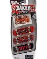 Tech Deck Fingerboards Walmart by Christmas Savings On Tech Deck Baker Mini Skateboard Red U0026 Black