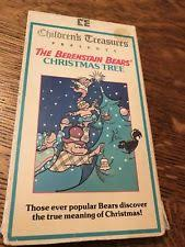 The Berenstain Bears Christmas Tree Dvd by The Berenstain Bears Christmas Vhs Ebay