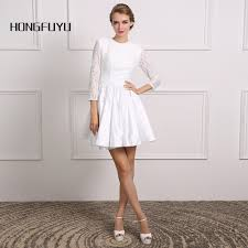 online buy wholesale white lace cocktail dress from china white