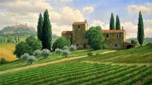 Beautiful Tuscany Full HD Wallpaper And Background Image