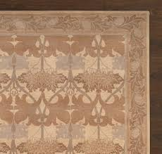 Rugsville Arts and Crafts Neutral Wool Rug Rugsville