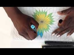 Coloring Book For Adults Meditation Session 01