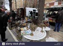 antiques and second goods for sale in porte de vanves flea market
