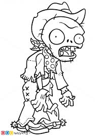 Plants VS Zombies Coloring Pages Printable Vs Book