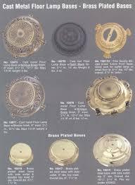 Stiffel Brass Lamp Value by Floor Lamps Parts For Floorp Basefloor Swivelfloor San Diego And