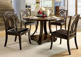 253282 Keukenhof Dark Walnut Round Dining Table W/4 Side Chairs Simmons Upholstery 500959 Heirloom Fniture Black Walnut Ding Table Bentley Designs Lyon Extending Table 6 Oiive Grey Leather Chairs Costco Uk Royce Set B 14 Camel Group Nostalgia Round Extension Starburst Dark Tables Custmadecom And Chairs Chair By Svegards Of America Argos Ava With 4 In Bucksburn Aberdeen Gumtree To Solid Jupe Hidden Leaves