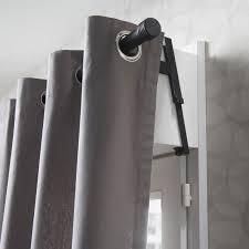 2 supports sans percage pour volet roulant loik ø 28 mm noir