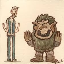 Ernest Saves Halloween Troll by Boogerlips From Ernest Scared Stupid Oooh Pinterest