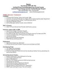 Physical Therapy Assistant Resume Lovely Objective For