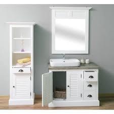 3 teiliges bad set waschtisch hochschrank spiegel