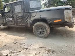 Spied: Jeep Truck Out Testing On Rubicon Trail   Quadratec Jeep Wrangler Unlimited Rubicon Vs Mercedesbenz G550 Toyota Best 2019 Truck Exterior Car Release Plastic Model Kitjeep 125 Joann Stuck So Bad 2 Truck Rescue Youtube Ridge Grapplers Take On The Trail Drivgline 2018 Jeep Rubicon Jl 181192 And Suv Parts Warehouse For Sale Stock 5 Tires Wheels With Tpms Las Vegas New Price 2017 Jk Sport Utility Fresh Off Truck Our First Imgur Buy Maisto Wrangler Off Road 116 Electric Rtr Rc