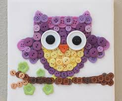 15 Button Crafts For Kids