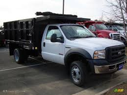 100 Medium Duty Dump Trucks For Sale 2007 Oxford White D F550 Super XL Regular Cab Truck