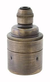 Ebay Antique Lamps Vintage by Es E27 Brass U0026 Bronze Lamp Bulb Holder Ideal For Vintage Edison