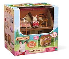Calico Critters Bunk Beds by Calico Critters Cozy Cottage Starter Home Only 19 99 Reg 40