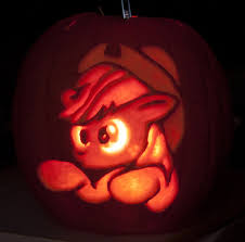 Rainbow Dash Pumpkin Stencil by My Little Pony Applejack Pumpkin Stencil