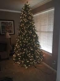 9 Ft Pre Lit Dual Color LED EZ Connect Artificial Christmas Tree