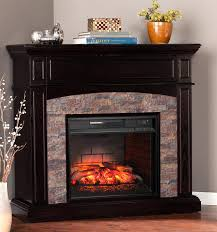 Southern Enterprises Redden Corner Electric Fireplace Tv by Boxwood Corner Infrared Media Electric Fireplace Tv Stand Lowes