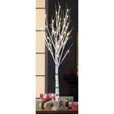 Holiday Time 4ft Birch Stick Tree