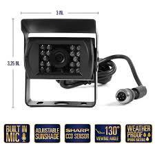 100 Backup Camera System For Trucks With 7 Display TFT LCD Car Monitor For