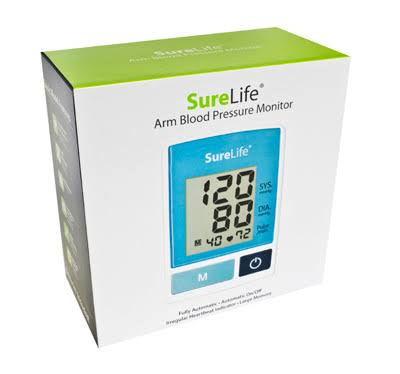 SureLife Arm Blood Pressure Monitor Classic Model 860213 - 1/box
