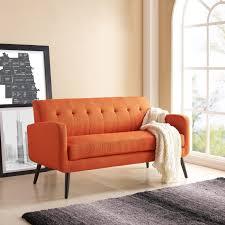 100 Mid Century Modern Canada Shop Handy Living Kingston Orange Linen