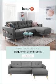 bequeme sofas im skandi look bequeme sofas deko für