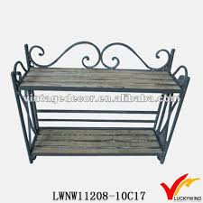 Vintage French Country Style Metal Shoe Rack Buy Metal Shoe Rack