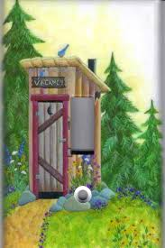 Outhouse Themed Bathroom Accessories by Elegant Outhouse Bathroom Decor
