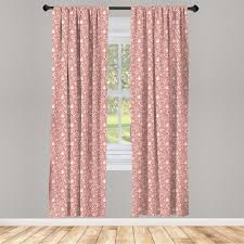 gardine fensterbehandlungen 2 panel set für wohnzimmer schlafzimmer dekor abakuhaus romantisch wirbels herzen kaufen otto
