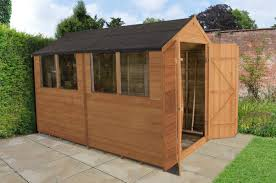 6 X 6 Wood Storage Shed by Forest Garden 6 X 10 Wooden Storage Shed Wayfair Co Uk
