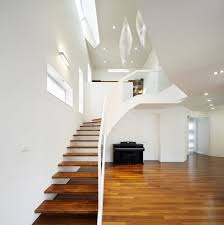 Interior: Mesmerizing Contemporary Home Interior In Asymmetrical ... Best Granite Colors For Stairs Pictures Fascating Staircase Interior Design Handrails With White Wood Railing And Steps Home Gallery Decorating Ideas Garage Deck Exterior Stair Landing Front Porch Designs Minimalist House The Stesyllabus Modern Staircase Ideas Project Description Custom Design In Prefab Concrete Homes Good Small Designed Outside Made Creative 47 Wooden Images
