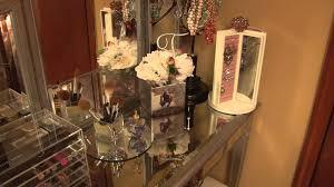 Hayworth Mirrored Dresser Antique White by Makeup Hair Care Hayworth U0026 Vanity Set Youtube
