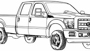 Cars And Trucks Coloring Pages Ford Truck 01 Inside