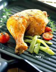 comment cuisiner une cuisse de poulet cuisses de poulet rôties recettes à table