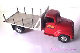 Tonka Toys Truck For Sale- Steel & Aluminum Stake Truck - Antique ...