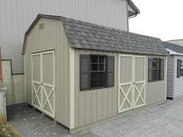 12x16 Barn Storage Shed Plans by Riehl Quality Storage Barns Llc