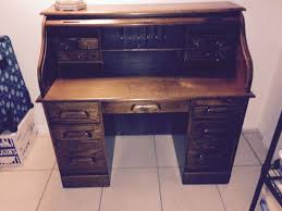 Ethan Allen Roll Top Desk by Bradford Oak Roll Top Desk Furniture In Largo Fl Offerup