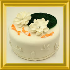 Lotus Flower Cake – 8 Inch – The Mystical Buddha Cake Shop