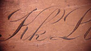 LETTERING How to engrave your own handwriting