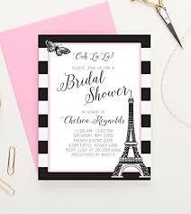 Amazon Paris Themed Bridal Shower Invitations Paris Bridal