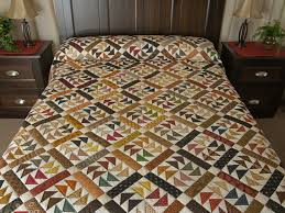 dutchmans puzzle quilt great carefully made amish quilts from