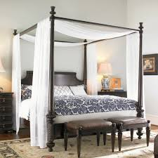 Rustic Master Bedroom Ideas by Rustic Master Bedroom Ideas With Creative Diy Ladder Bed Canopy