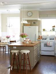 A Built In Bench Circular Table Paid Of Cafe Chairs Add Functionality To Small Space Find This Pin And More On Kitchen Ideas