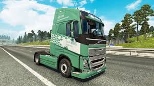 100 Volvo Truck Center Koln Skin For Truck For Euro Simulator 2