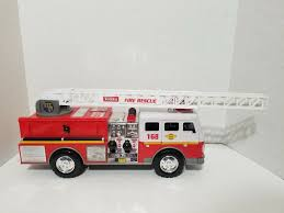 100 Tonka Fire Rescue Truck 168 Engine Lights Sounds Hasbro EBay