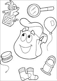 Dora The Explorer Coloring Pages 11