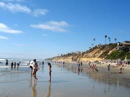 Californiamoonlightbeachencinitas Beach Spot