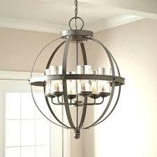 chandeliers design fabulous glass orb chandelier bronze