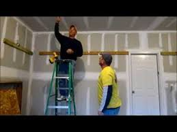Build Wood Garage Storage by How To Install Storage Shelves In Your Garage Youtube